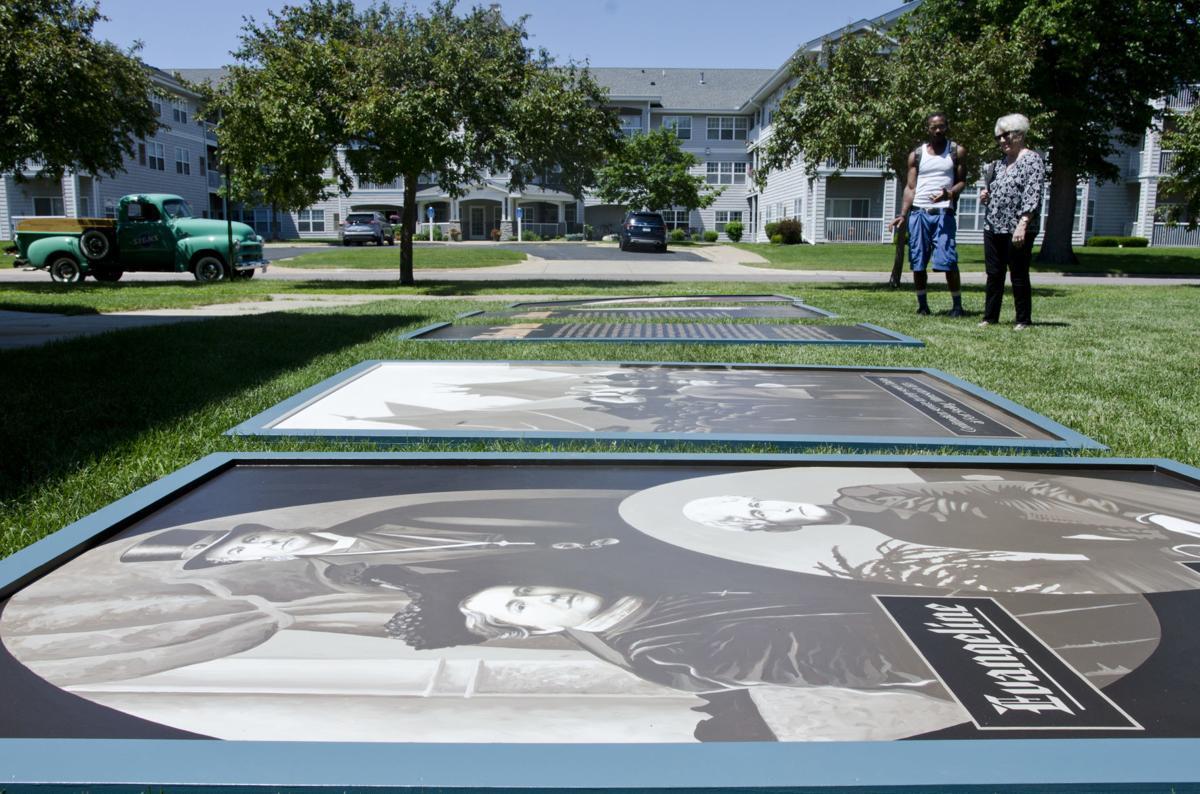 bishop whipple mural installation
