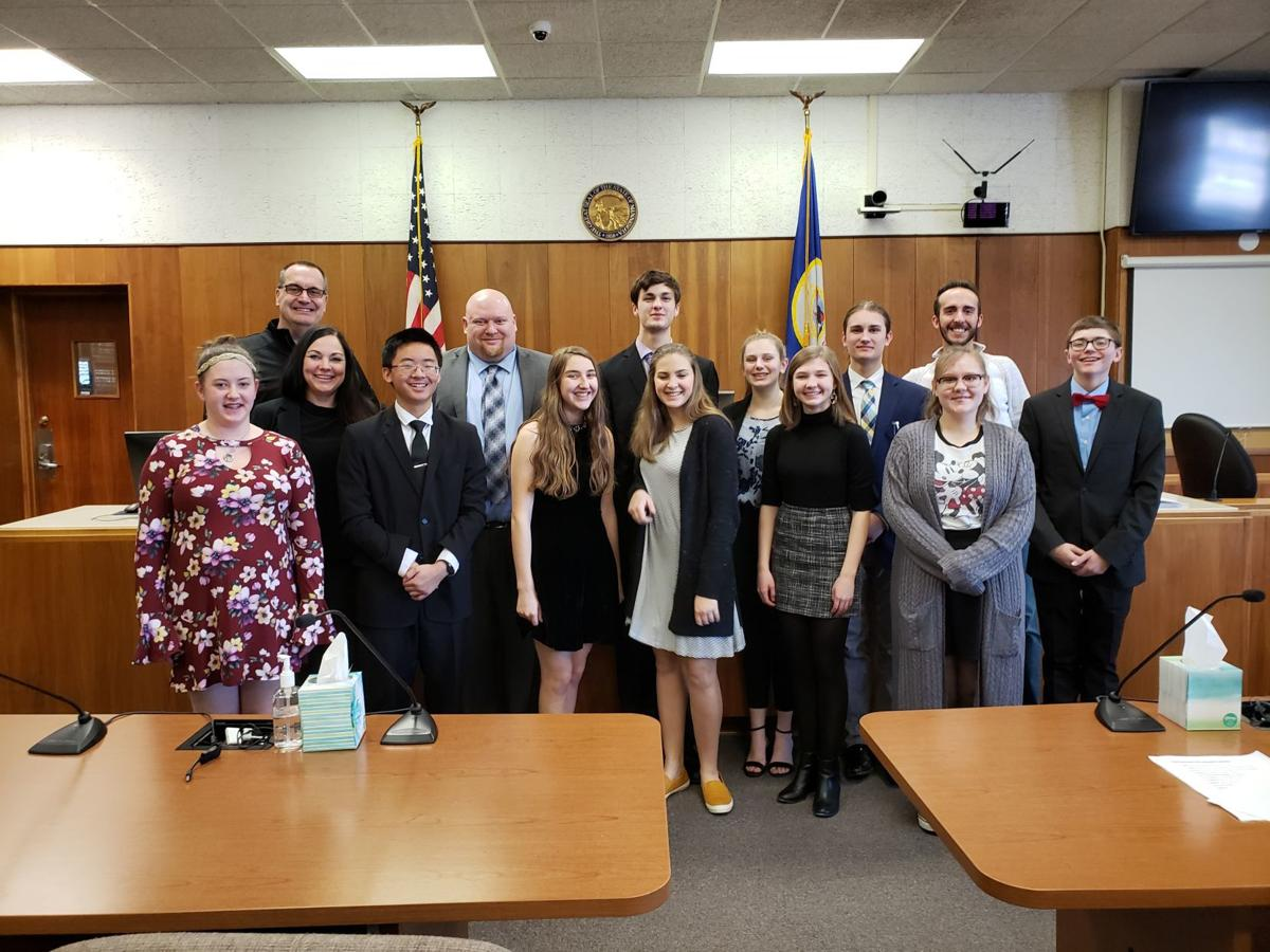 Waseca High School Mock Trial teaches students the legal system