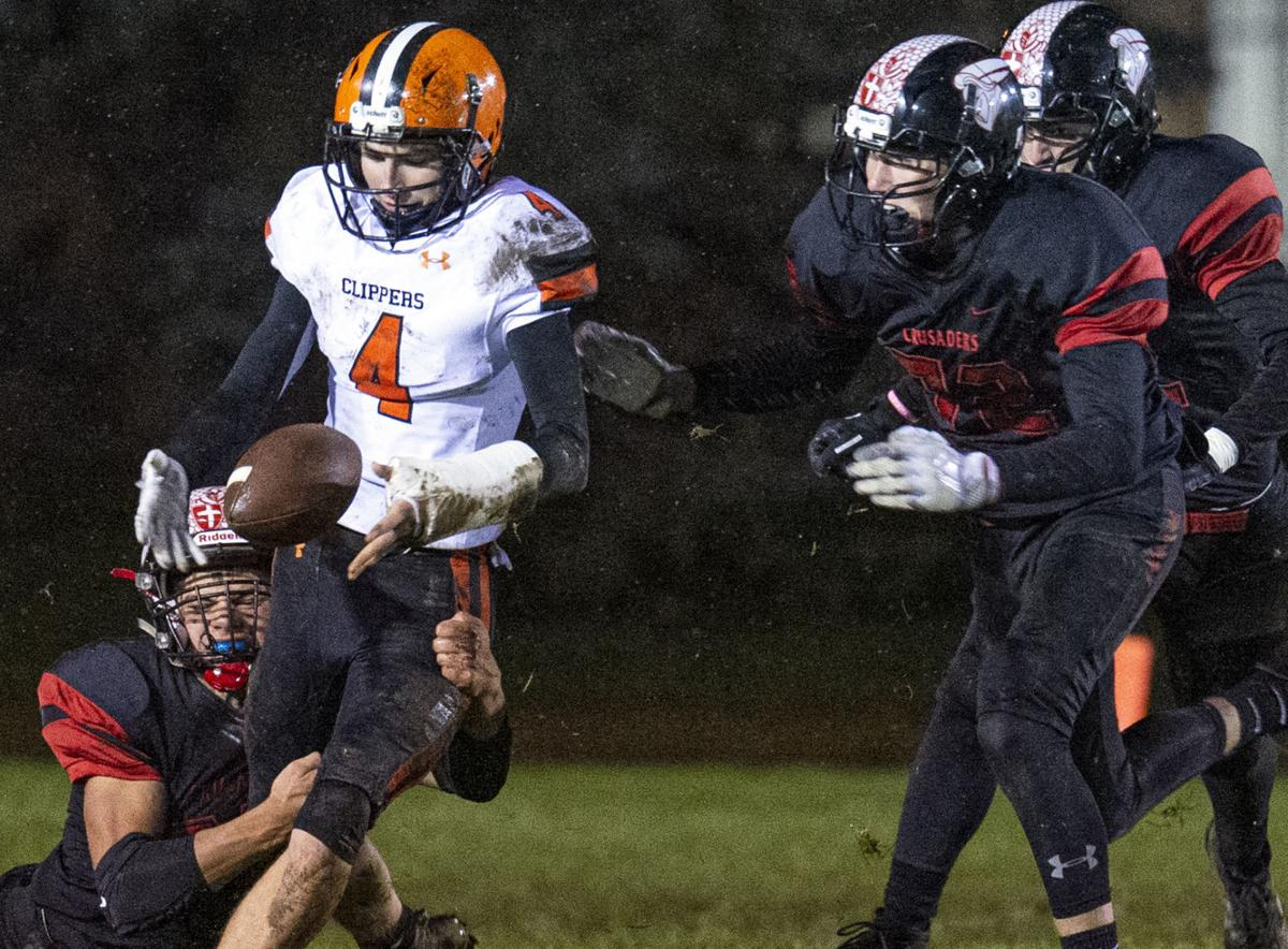 Clippers fall to Mayer Lutheran in snowy shutout