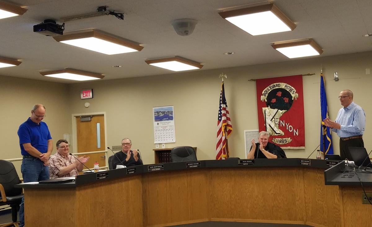 Gard takes seat on Kenyon City Council