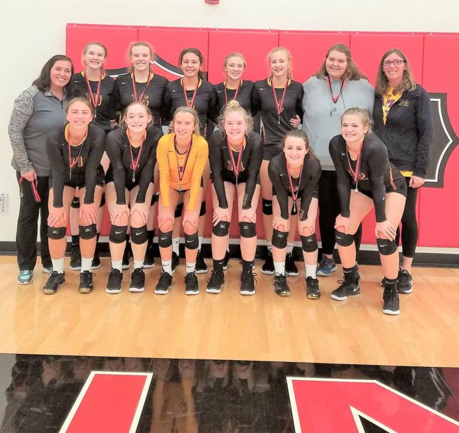 Medford volleyball wins pool, finishes 2nd overall...