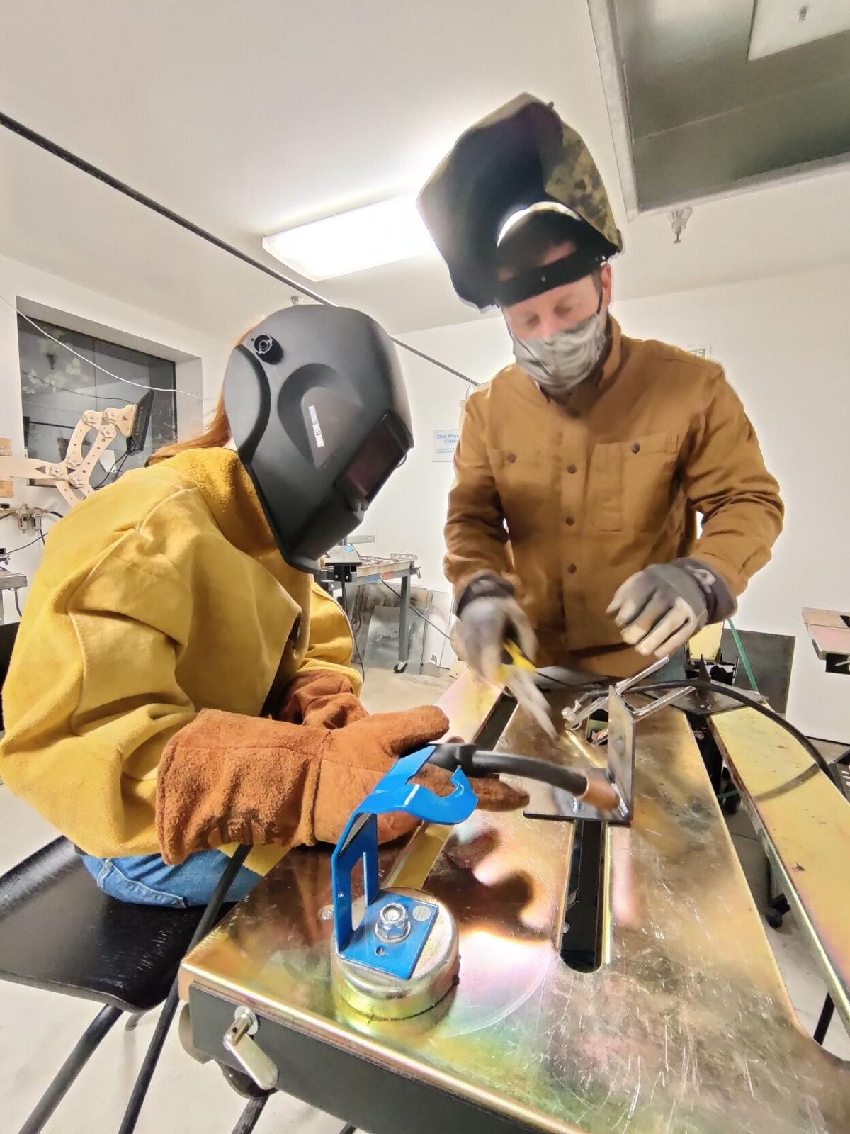 Courtesy of Lacey MakerSpace - WeldingClass.jpg