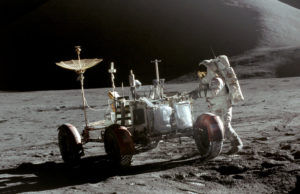 Interactive Lunar Rover Replica Unveils in Downtown Kent
