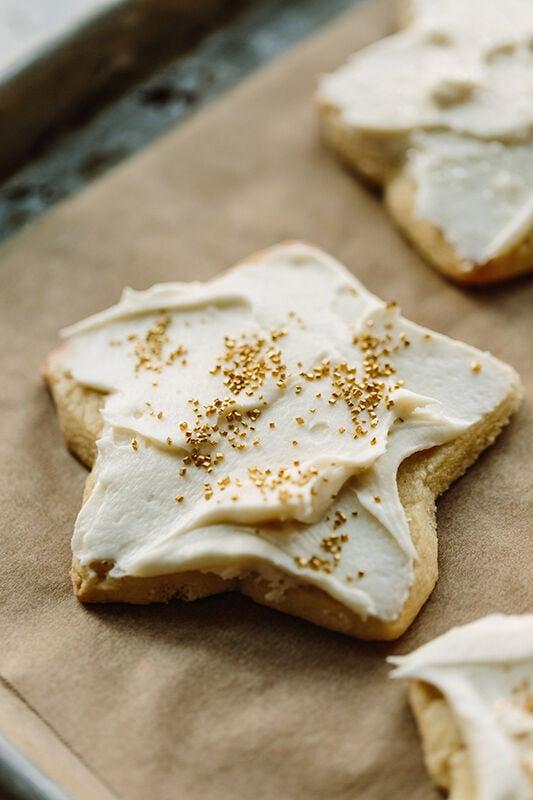 The Sweetest Gift: Make the Best Vanilla Bean Sugar Cookies