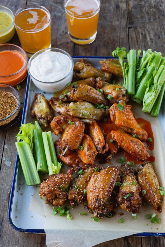Hot Wings at Home 3 Ways