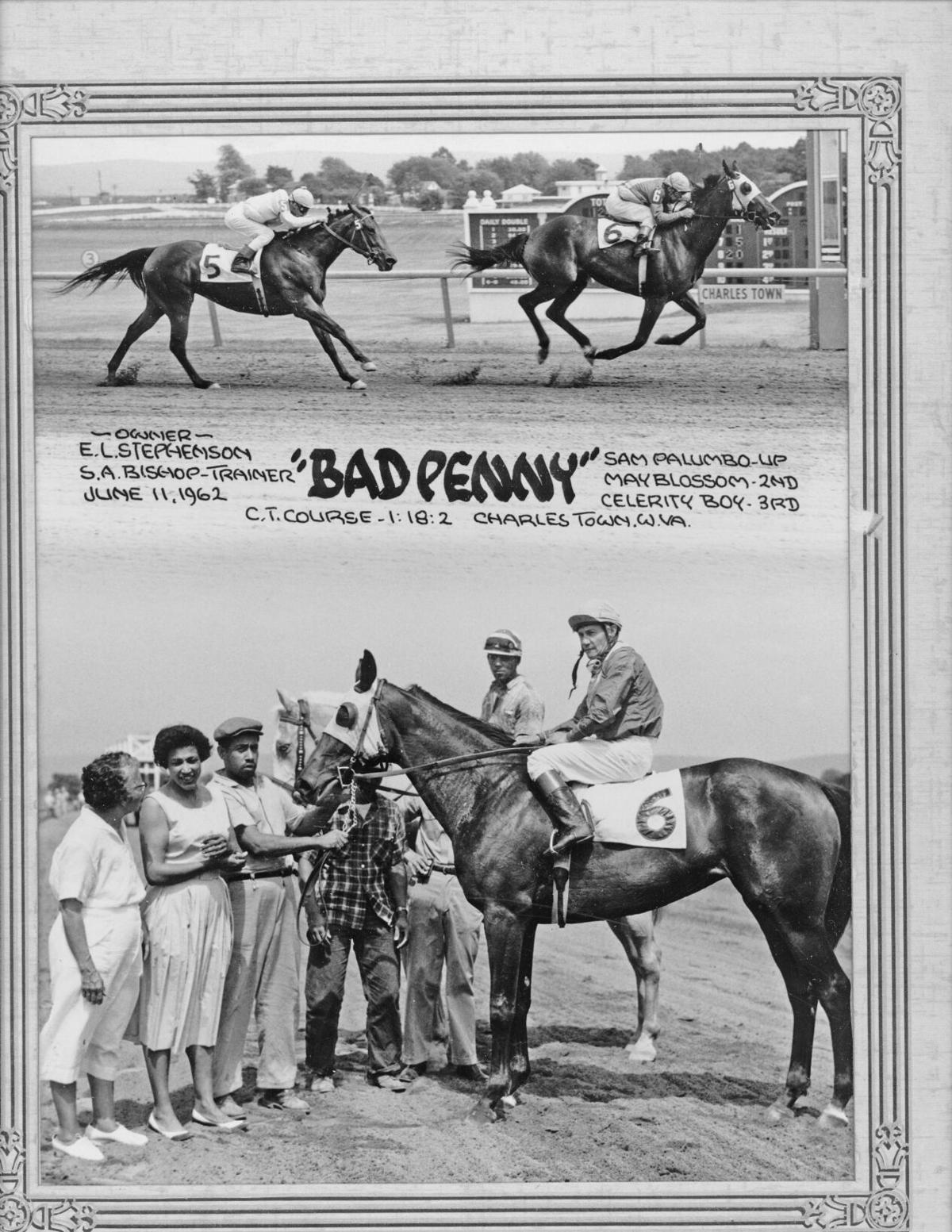In the winner's circle at Charles Town on June 11, 1962 (1).jpg