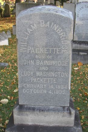 William Packette tombstone