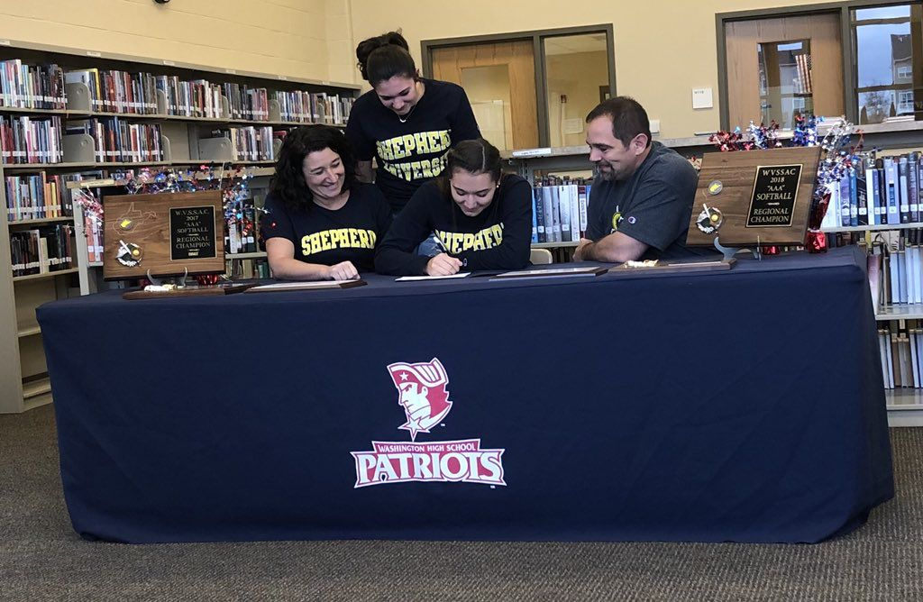 Signing with Shepherd
