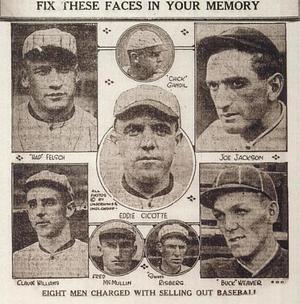 """The 1919 """"Black Sox"""""""