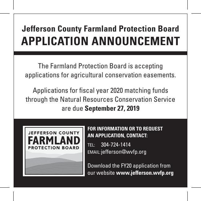 Jefferson County Farmland Protection Board Application Announcement