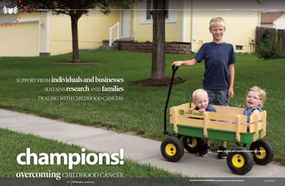 Champions! Overcoming Childhood Cancer