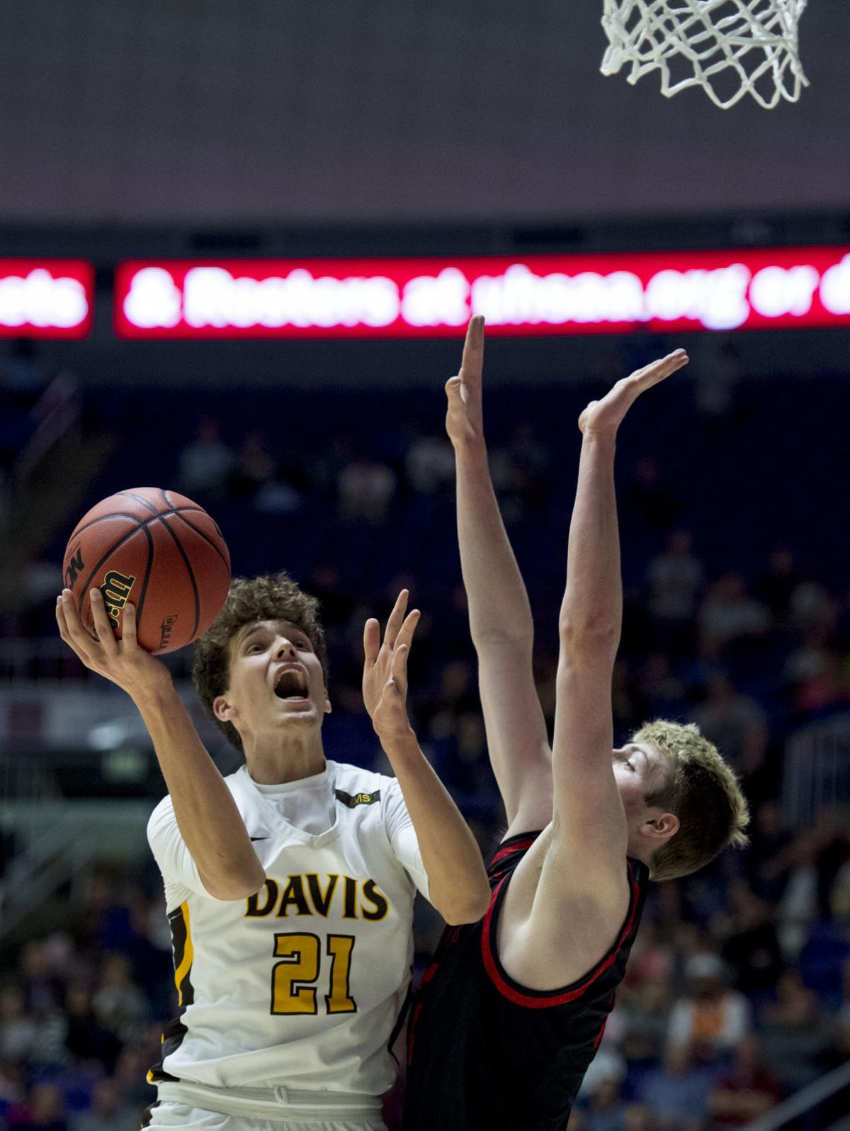 American Fork vs. Davis: 6A boys basketball semifinals 01