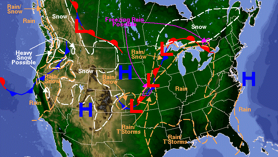 Weekly Weather Forecast Cold Front With Snow Tuesday In N Utah