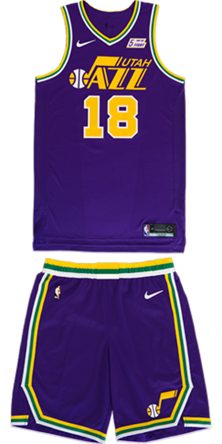 6c474e9dd04 Utah Jazz unveil purple throwback uniforms with nostalgic video for ...
