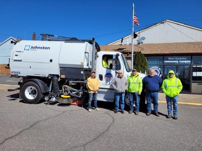 West Hazleton adds street sweeper