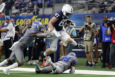Star Lions tight end planning college comeback
