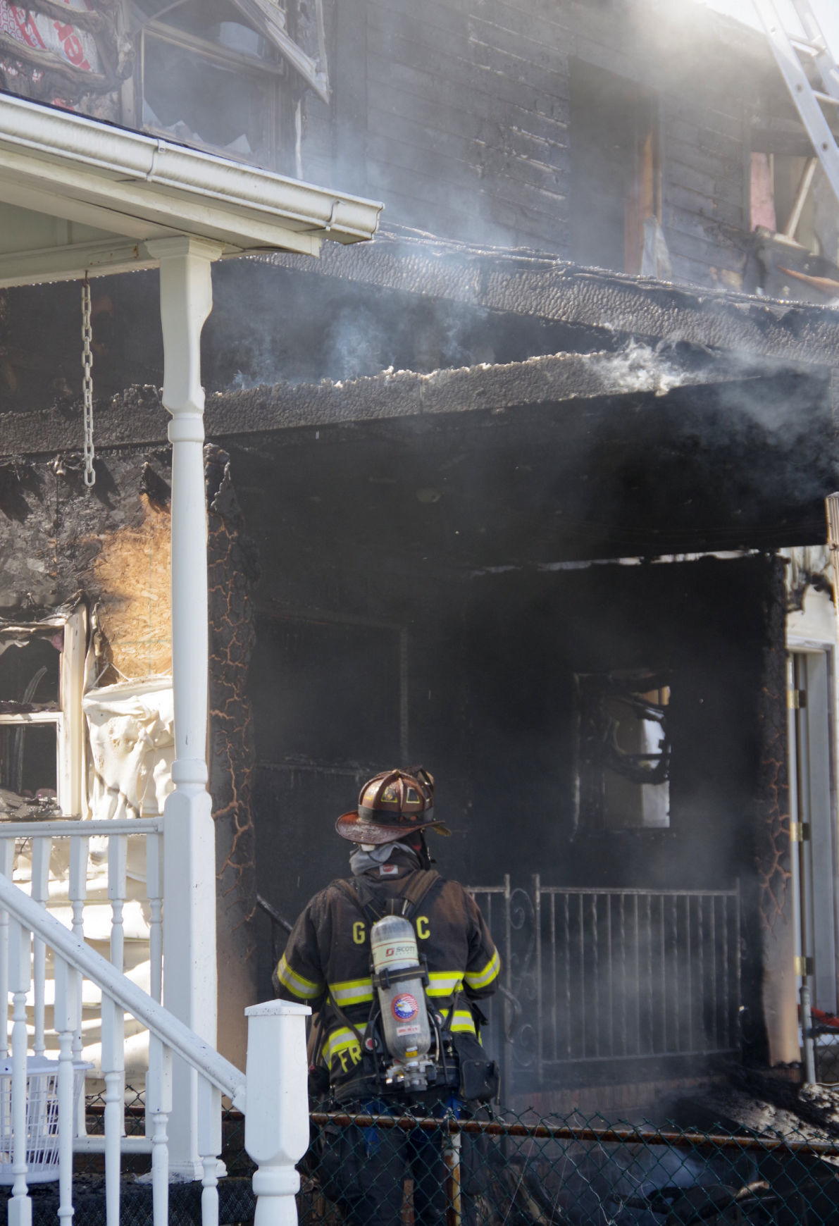 Frackville fire 2