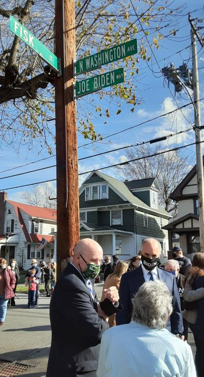 City designates street outside Biden childhood home as 'Joe Biden Way'