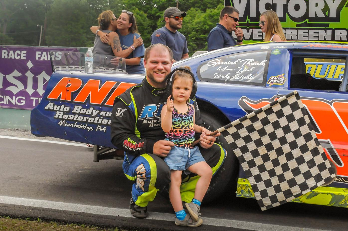 AUTO RACING: Ross on top of local Late Model class