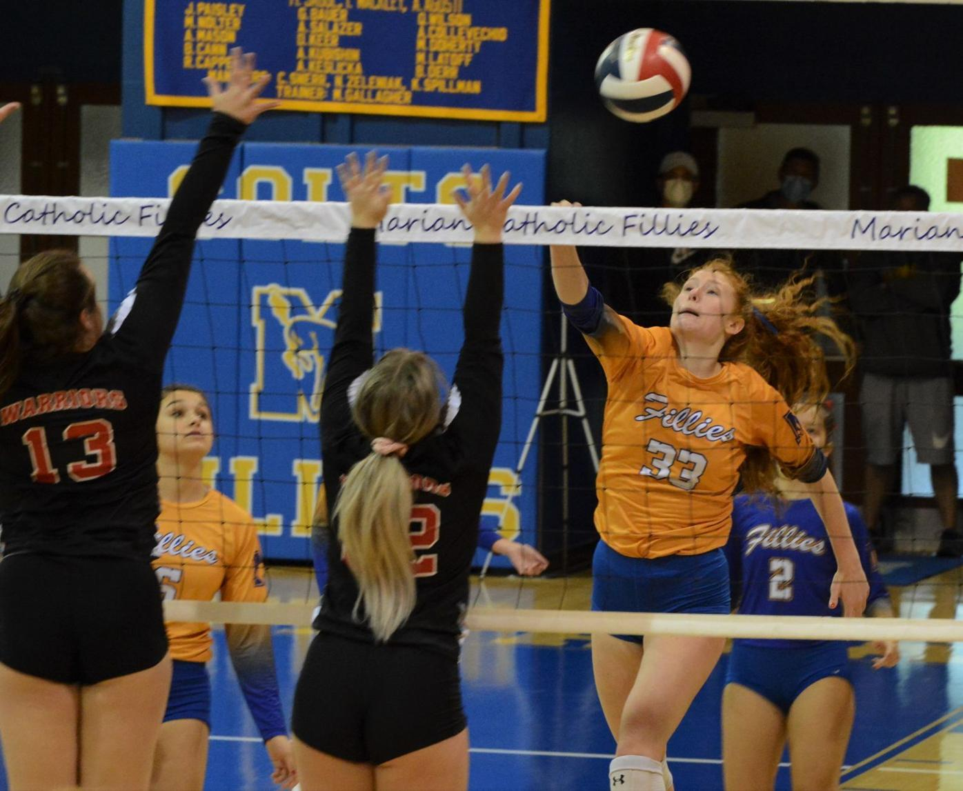 Marian sweeps past Canton, into state semifinals