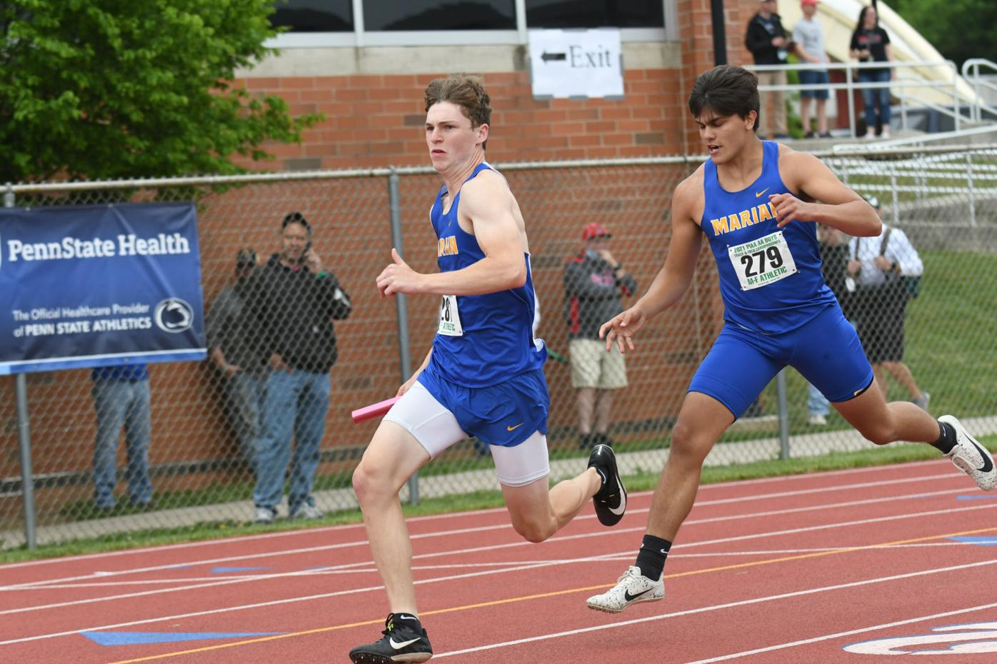 PIAA TRACK  AND FIELD: Colts' Fellin mines silver in 100