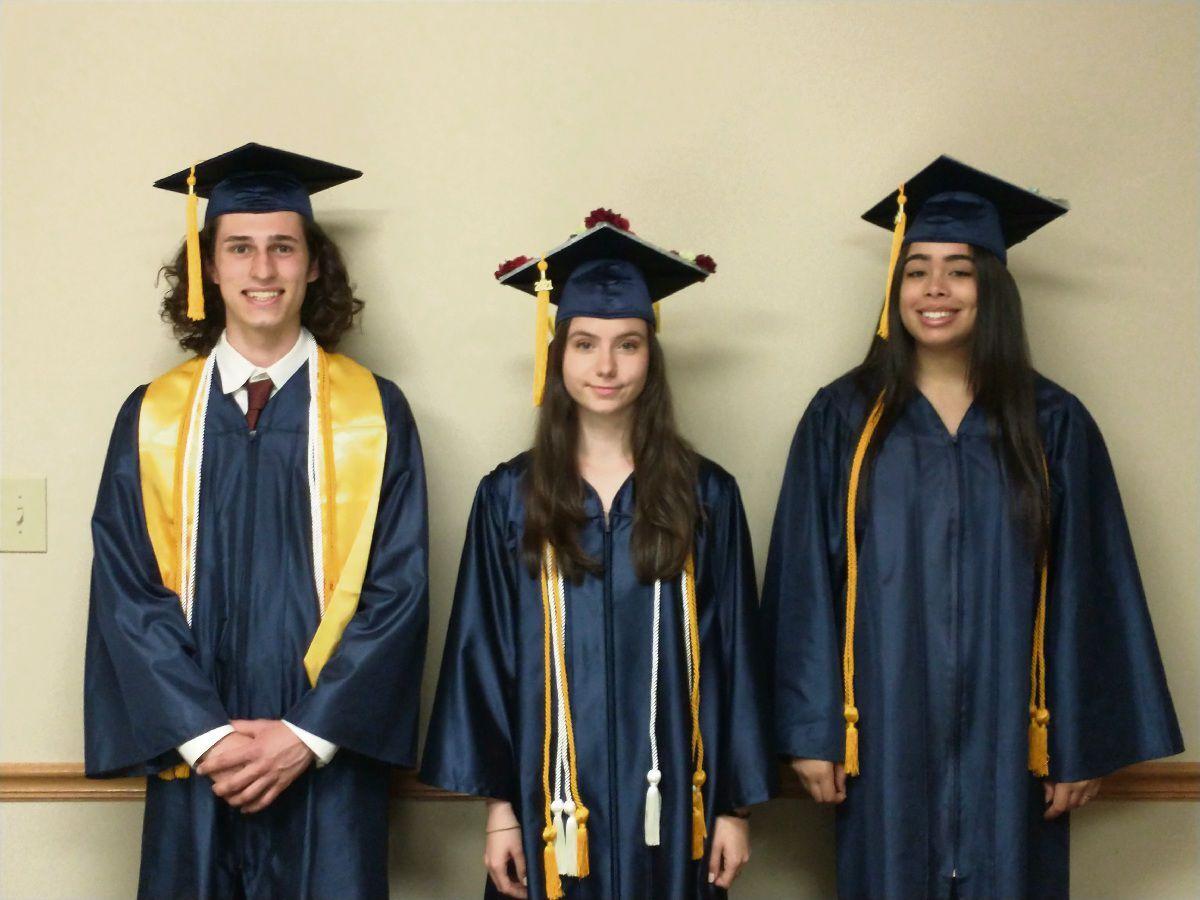 Immanuel Christian graduates three