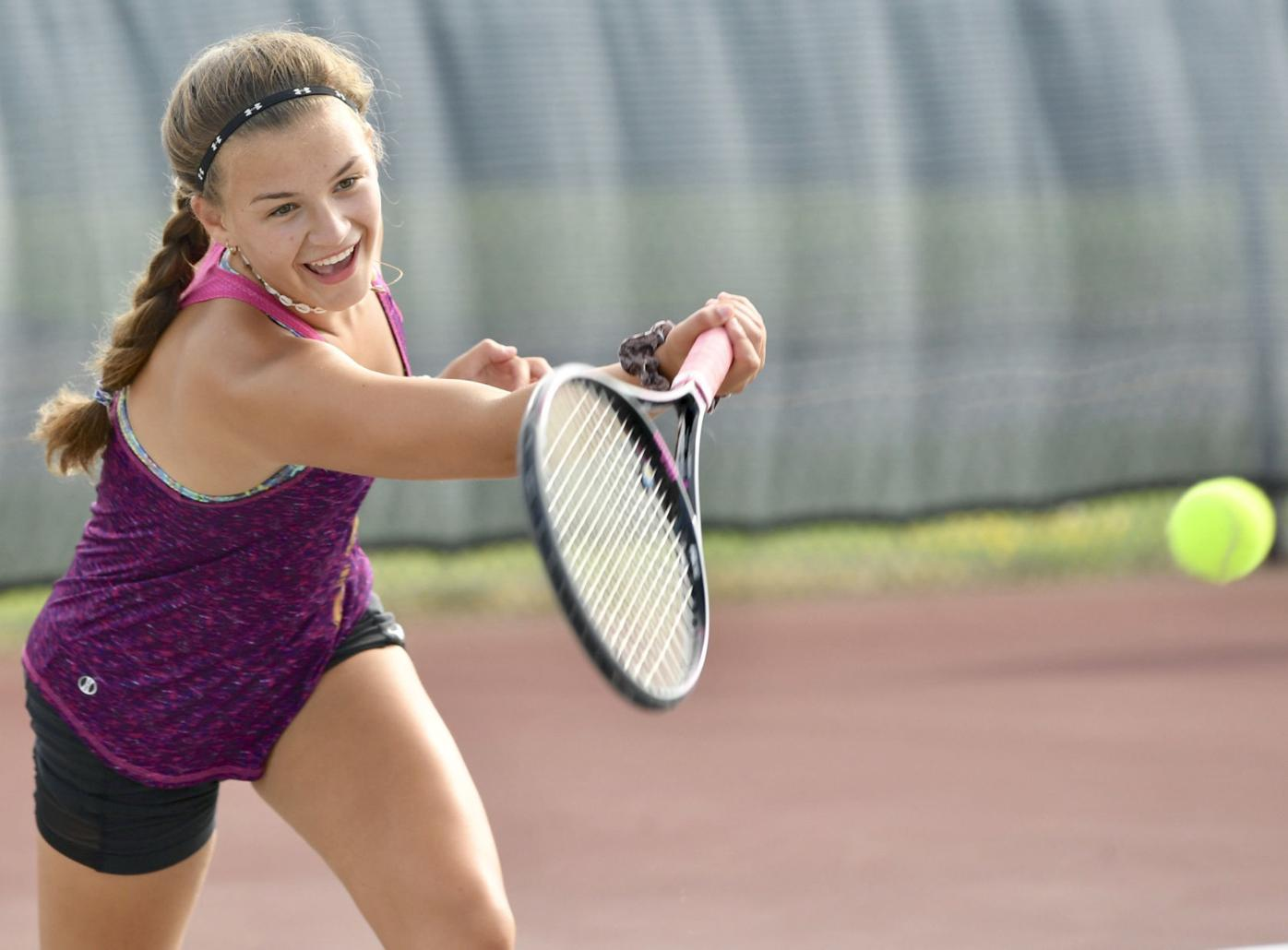 Three area girls' tennis teams set to open 2020 season