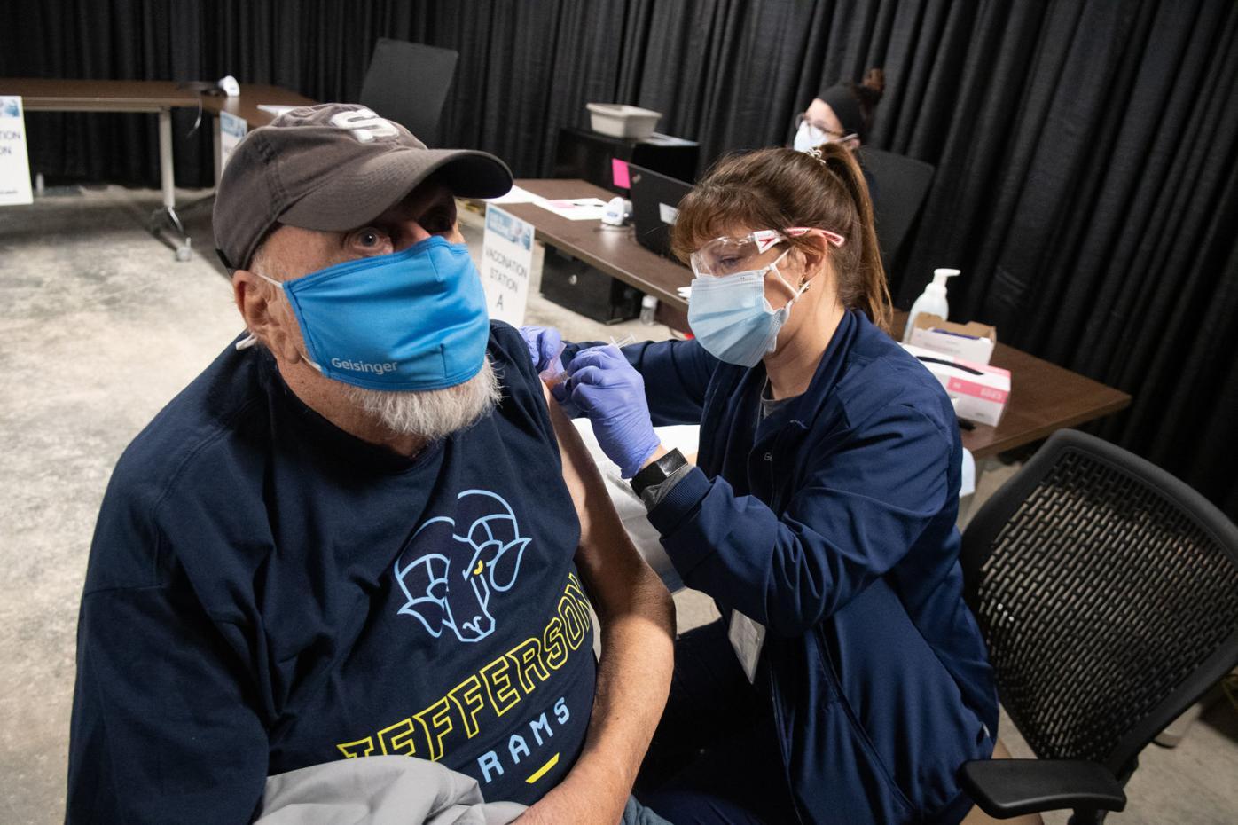 st luke's geisinger covid vaccine