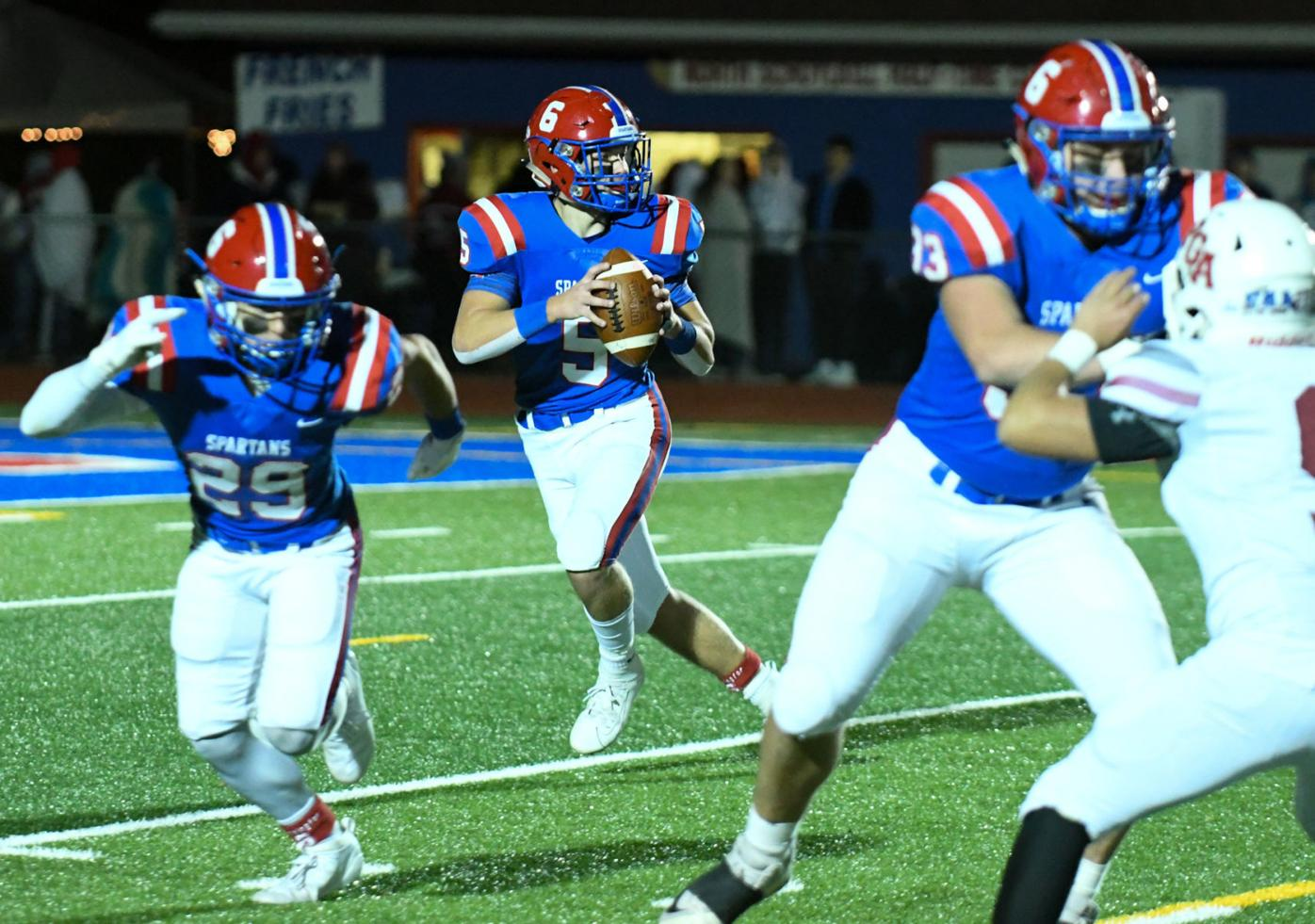 Spartans look for new leaders