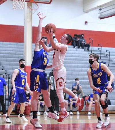H.S. BOYS' BASKETBALL: Chester rally eliminates Comets
