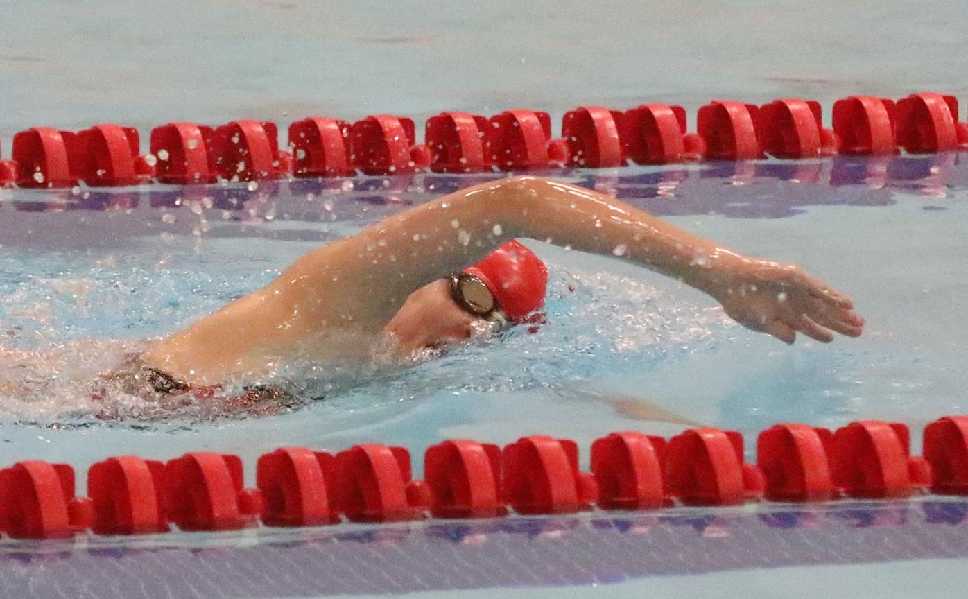 H.S. SWIMMING: Unbeaten Cougars sweep past Dallas, Wyoming Seminary