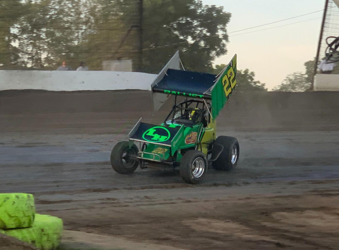 Jacob Balliet finding his way in Sprint Car racing