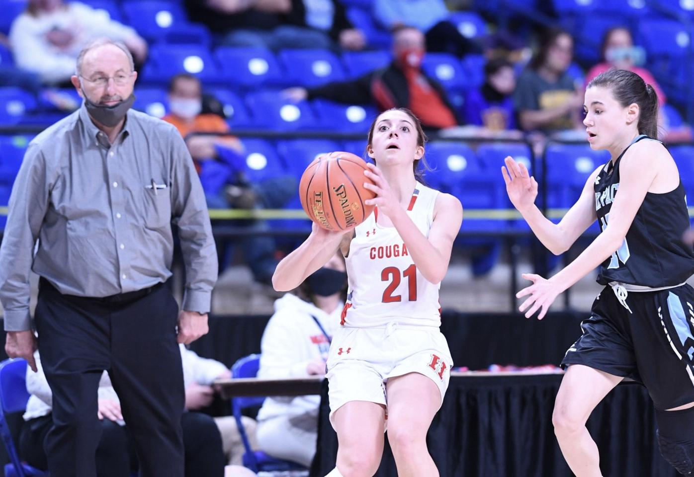 H.S. GIRLS' BASKETBALL: Wolfpack end Lady Cougars' subregional title run
