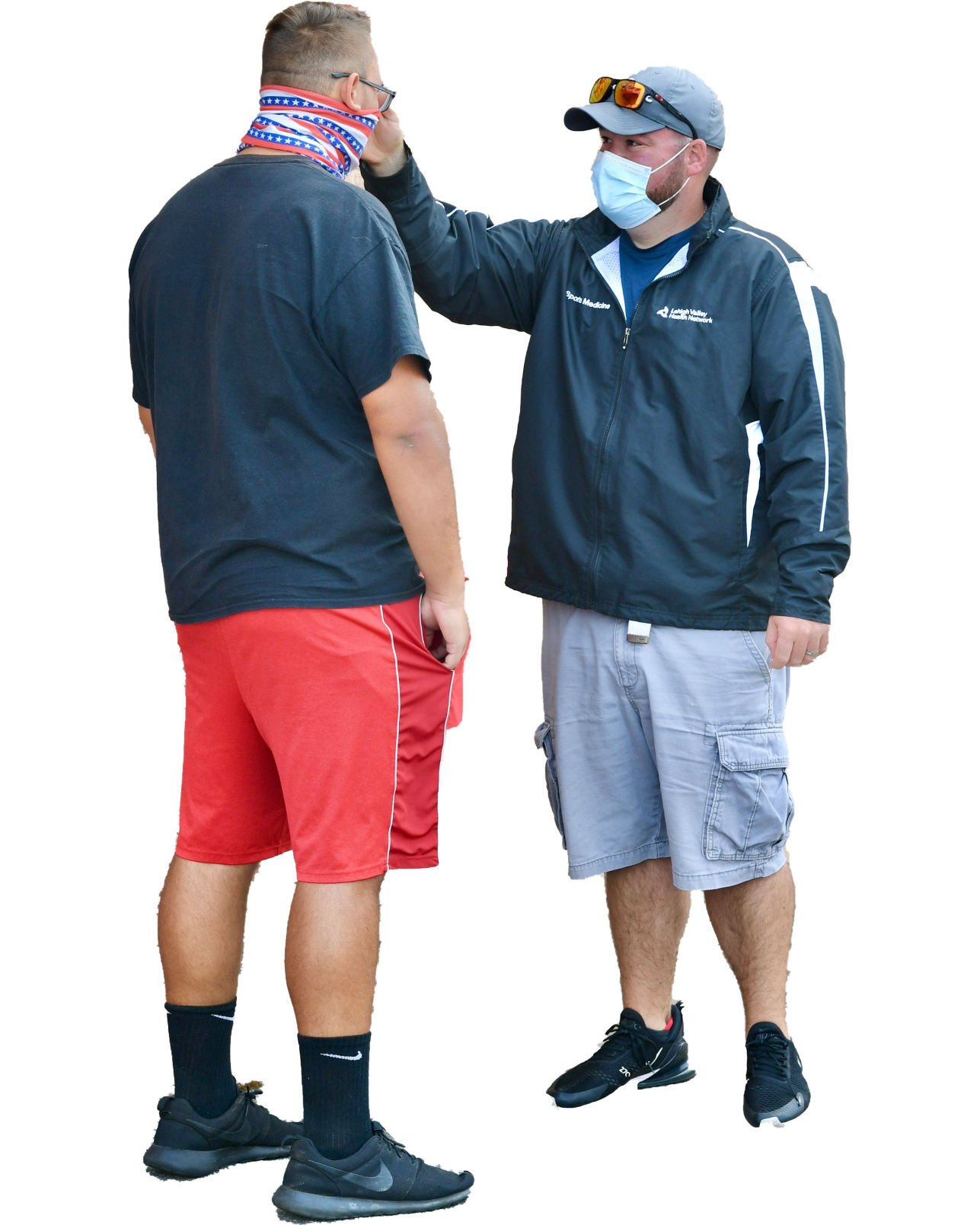Athletic trainers working hard to keep players, coaches safe
