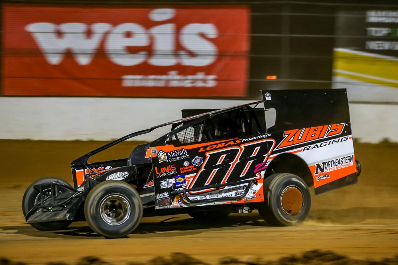 LOCAL AUTO RACING: Strunk races into history books at Bloomsburg