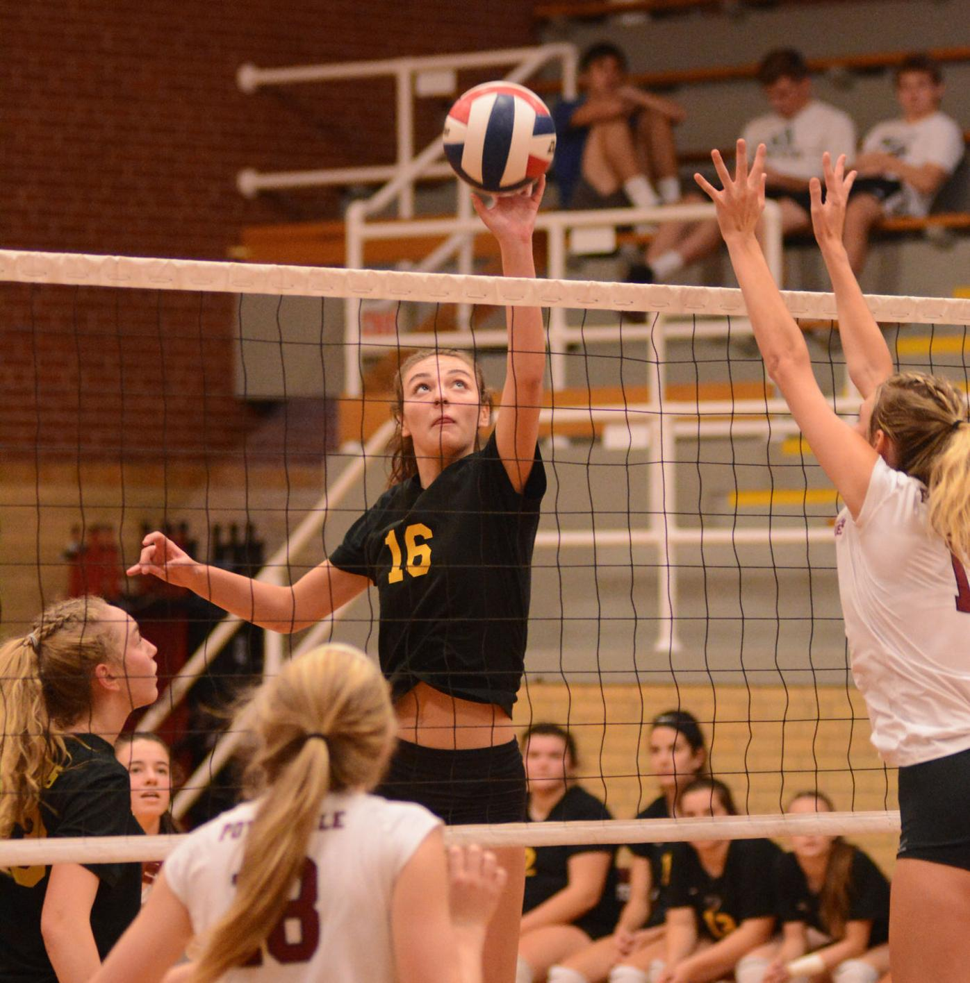 Girls' volleyball may look a little different