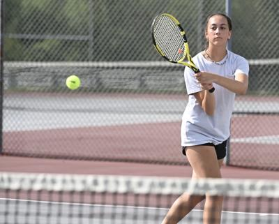 H.S. GIRLS' TENNIS PREVIEW: Four local teams start play this week