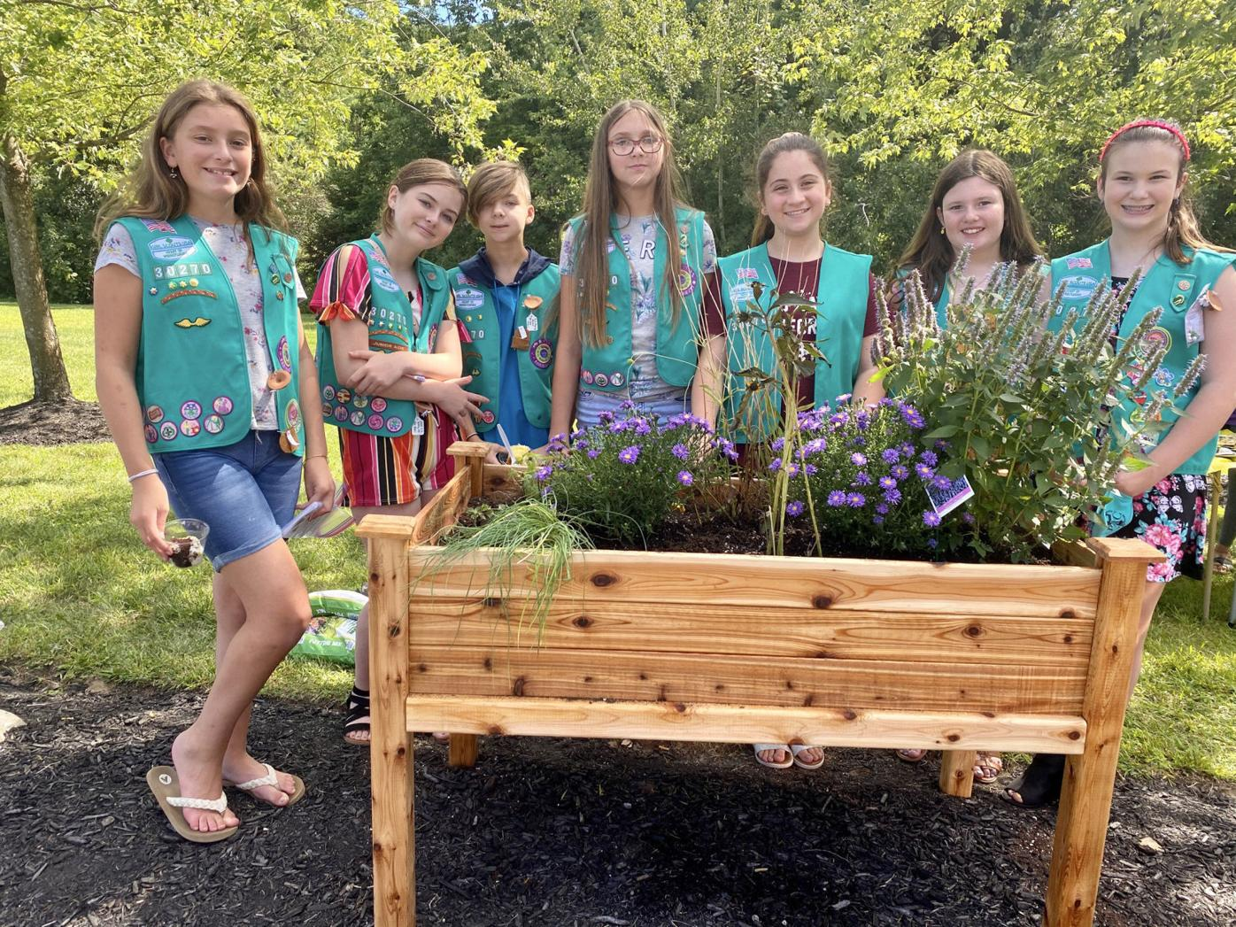 Girl Scout troop receives Bronze Award