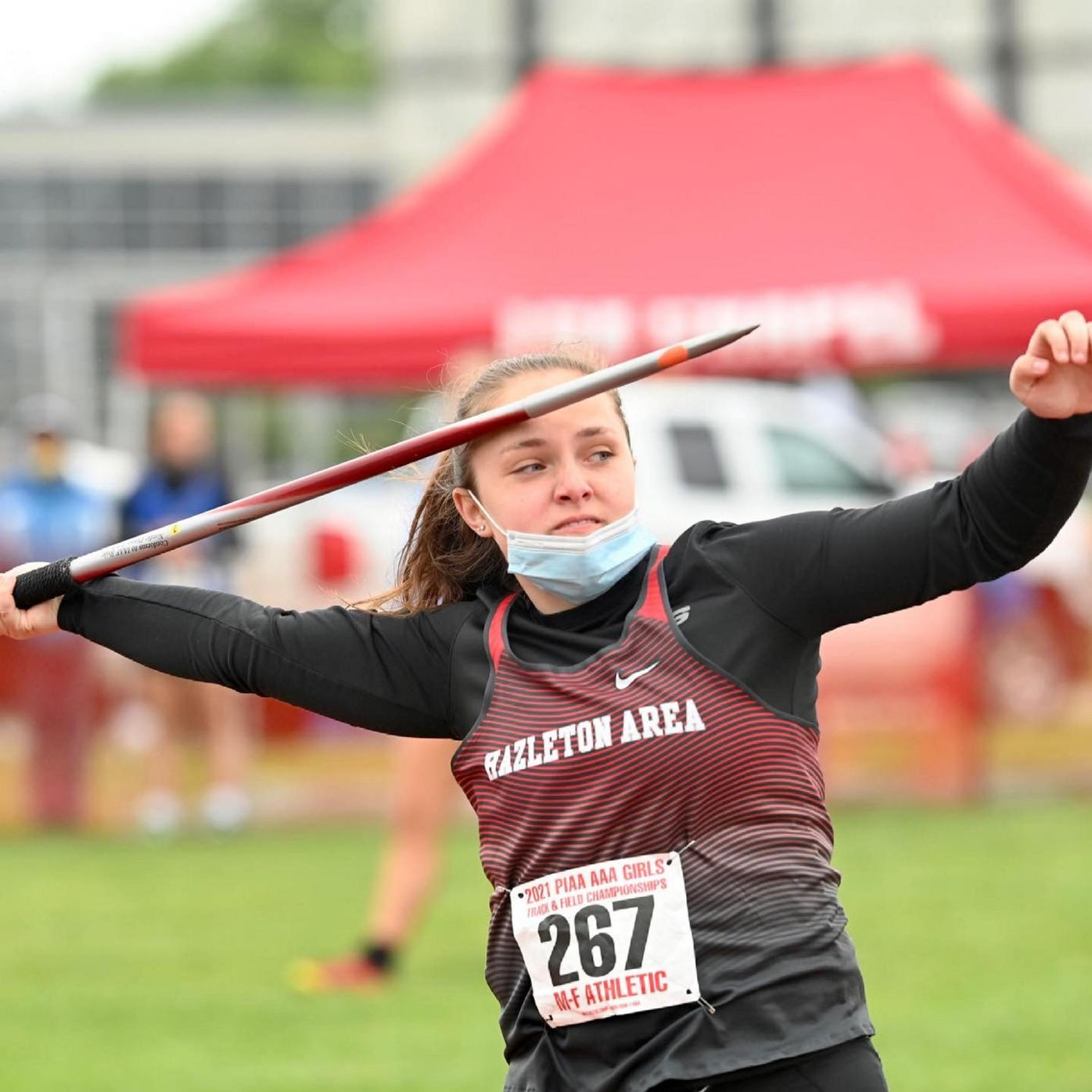 PIAA TRACK AND FIELD: Lady Cougars' Hengst captures gold in javelin