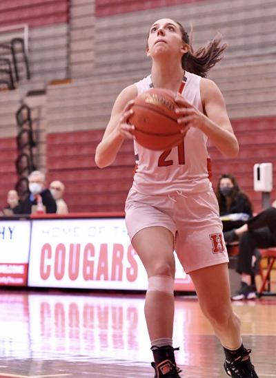 H.S. GIRLS' BASKETBALL: Lady Cougars double their pleasure