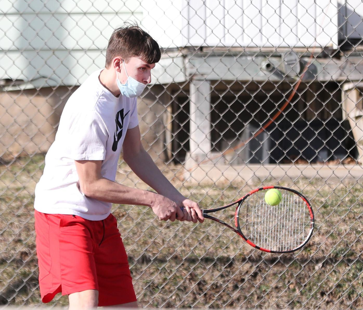 H.S. BOYS' TENNIS: Comets down Preppers in season opener