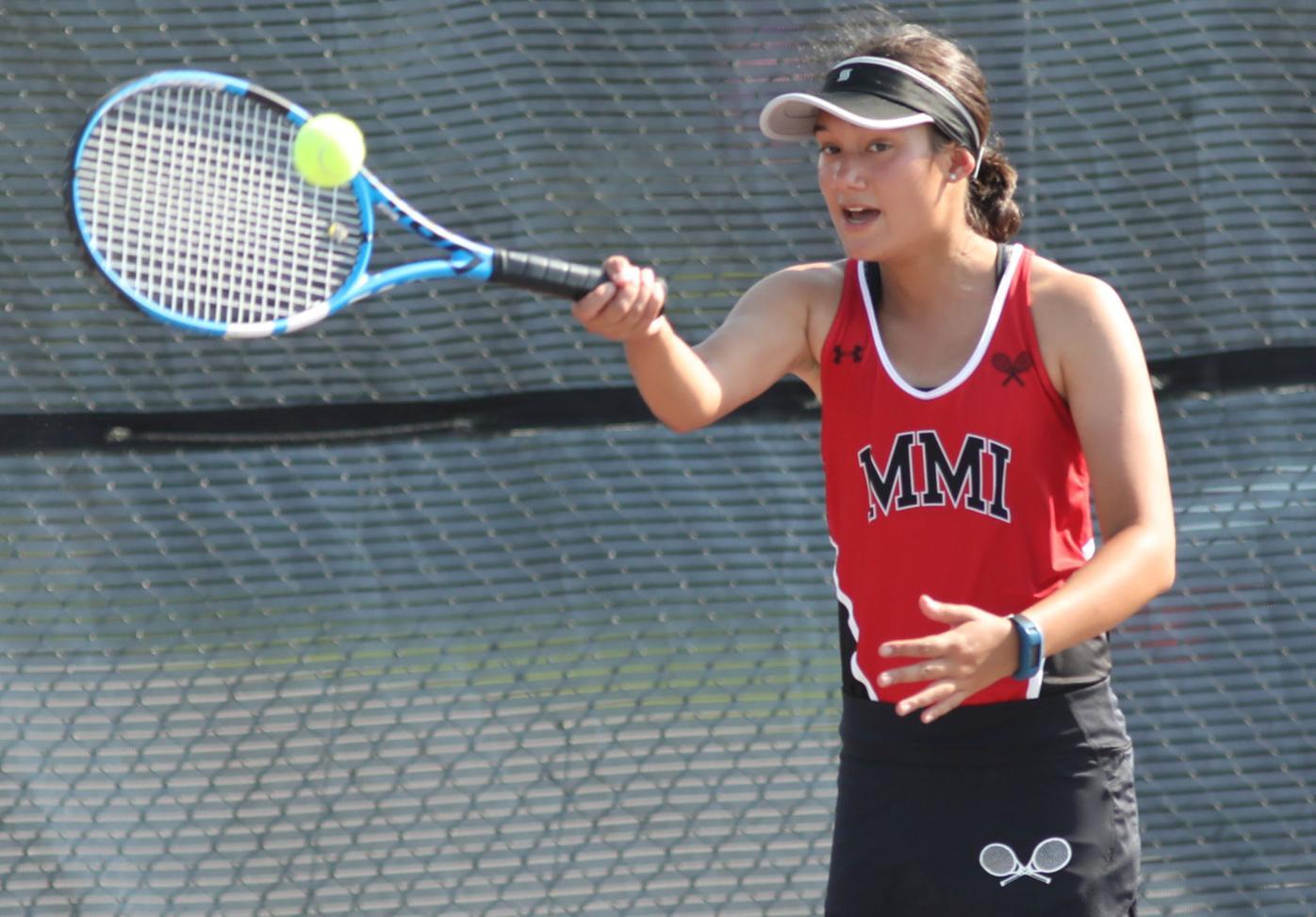 HS ROUNDUP: Cougar tennis, golf teams post victories