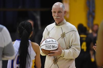Long-time Marian Fillies basketball coach Paul Brutto retires