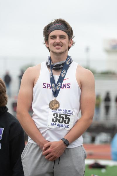 PIAA TRACK AND FIELD: Spartans' Bolinsky 4th in discus