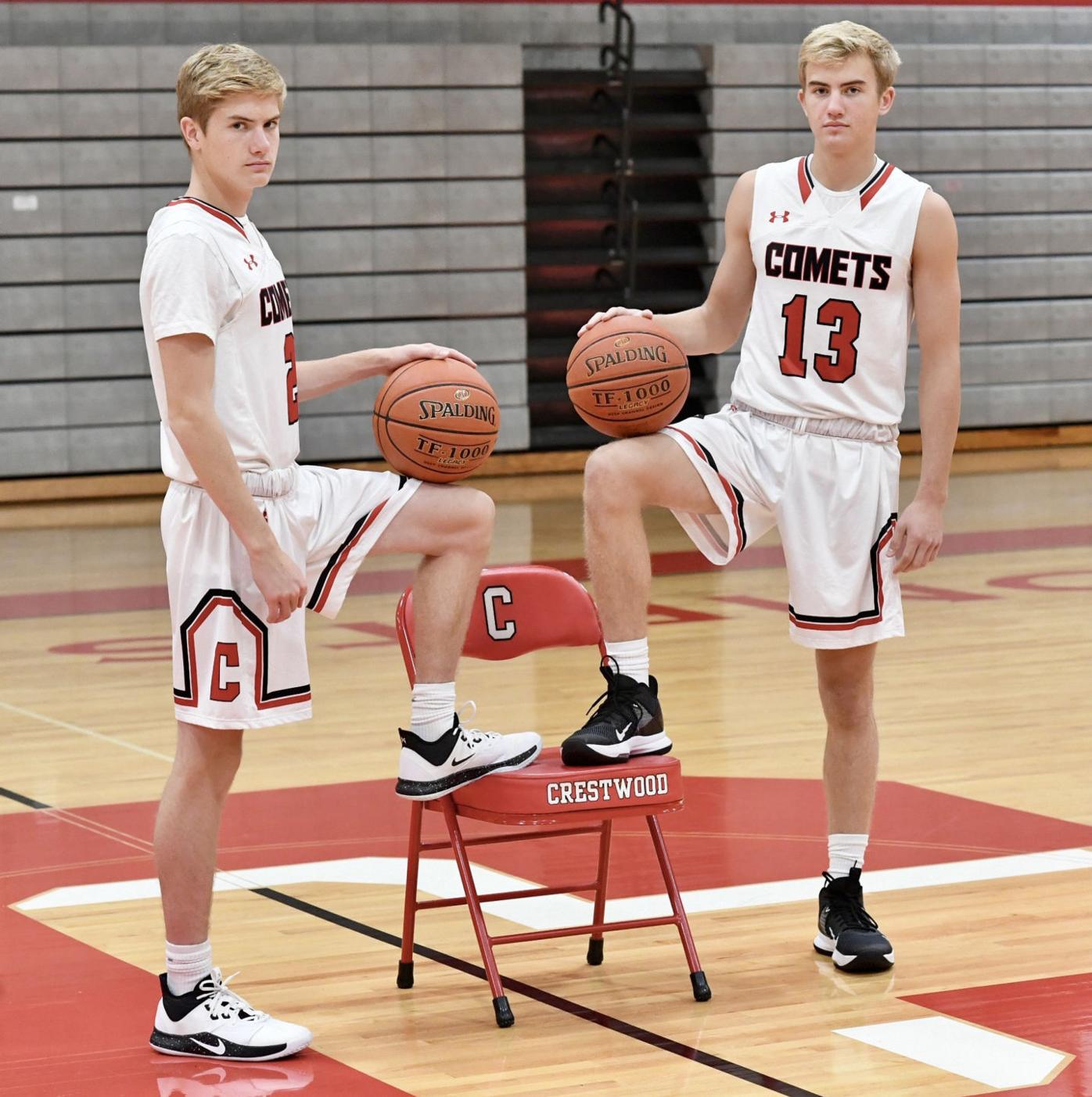 H.S. BOYS' BASKETBALL: Zaleski twins key to Comets' run