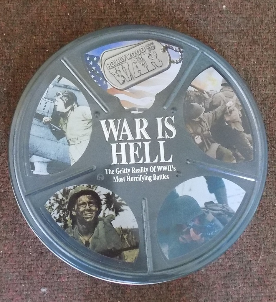 12 DVD's on actual WWII Battles & events. CASH ONLY