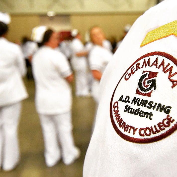 Germanna nursing student