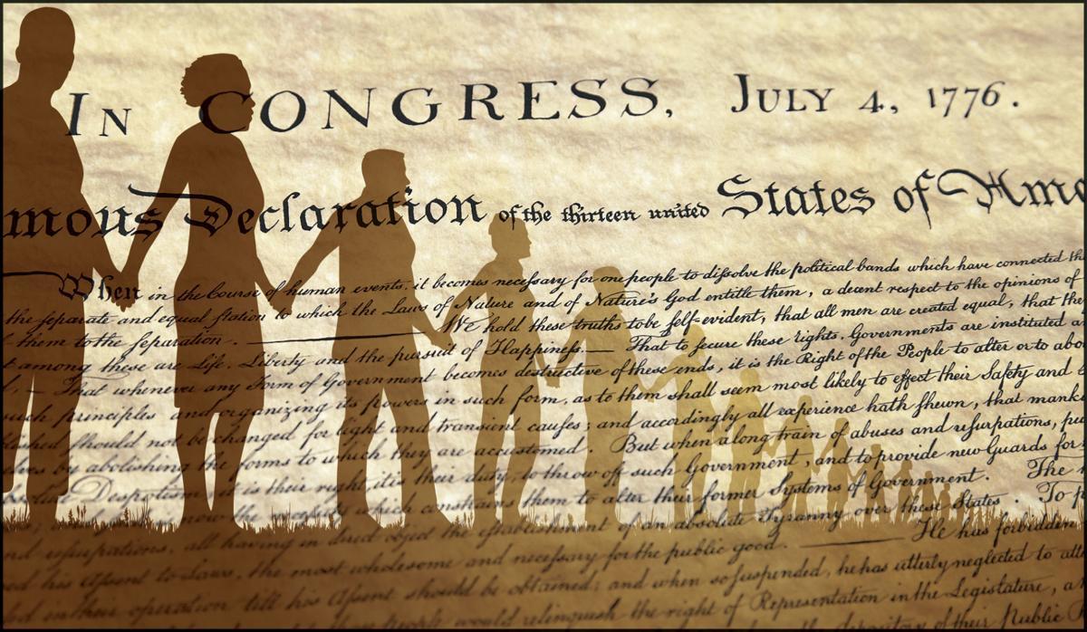 REVISED Declaration of Independence artwork