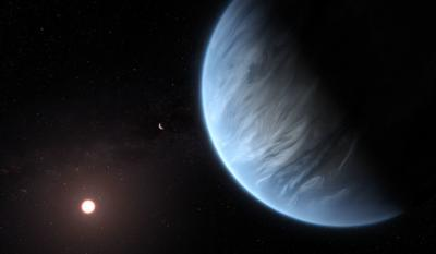 Scientists say they found first potentially habitable planet with water in its skies