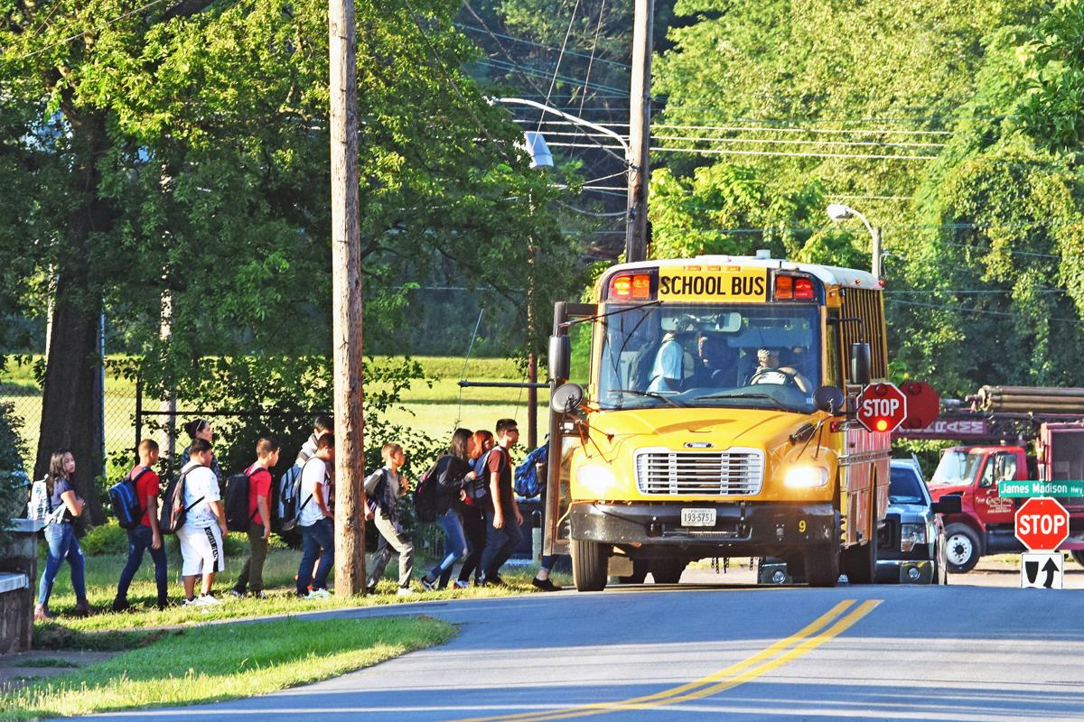 First day of school in Culpeper